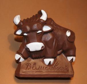 Шоколадный бык